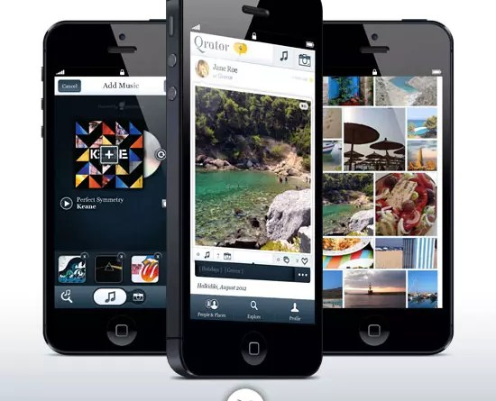 Qrator: Δωρεάν iPhone App για να μοιραστείς τις εμπειρίες της ζωής σου