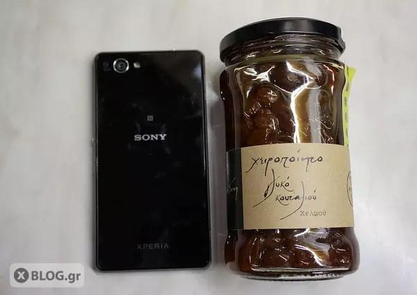 Γλυκό κουταλού στο Sony Xperia Z1 Compact