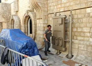 Final preparations for the filming of Star Wars: Episode VIII in Dubrovnik