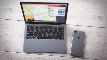 Aplpe MacBook Pro OLED touchpad concept (2)