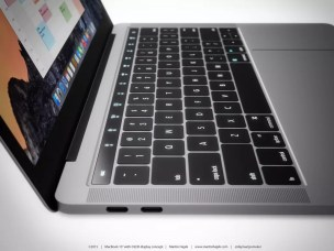 Aplpe MacBook Pro OLED touchpad concept (5)