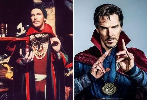 Doctor Strange 1978 and 2016