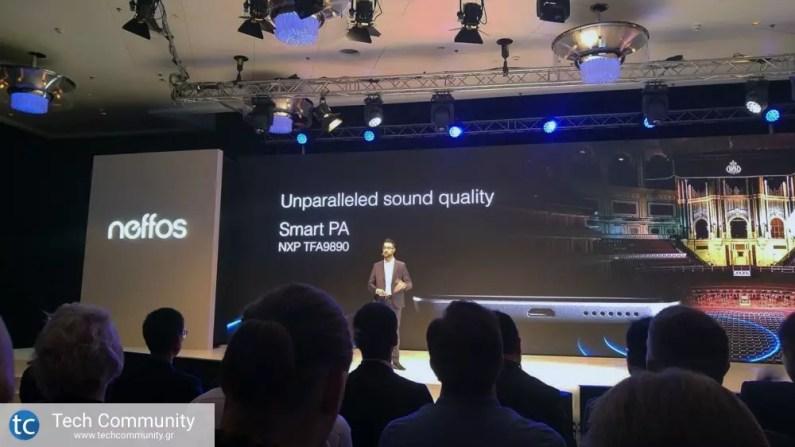 TP-Link Neffos X1 sound