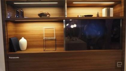 Panasonic transparent TV prototype