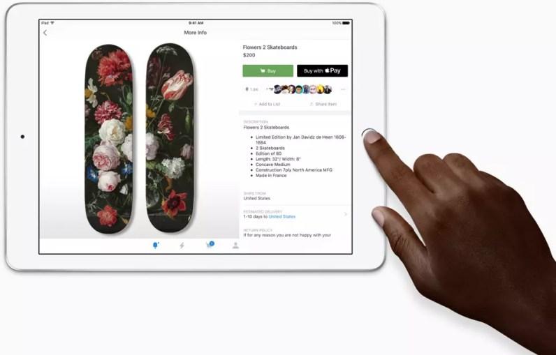 Apple iPad 9.7 2017 Touch ID