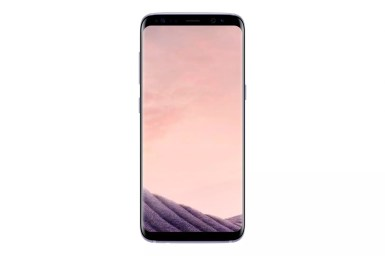 Samsung Galaxy S8 SM G950F Front Orchidgrey