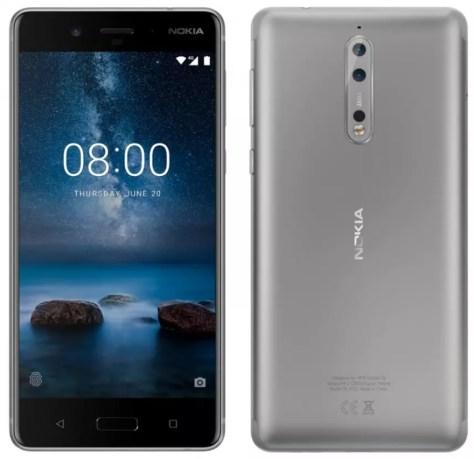 Nokia 8 steel color leak