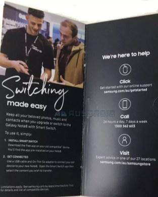Samsung Galaxy Note8 brochure leak 3