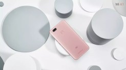 Xiaomi Mi A1 back pink