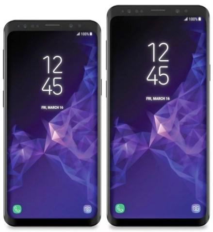 Samsung Galaxy S9 Galaxy S9 Plus leak