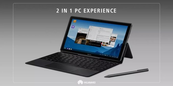 Huawei MediaPad M5 10 Pro desktop
