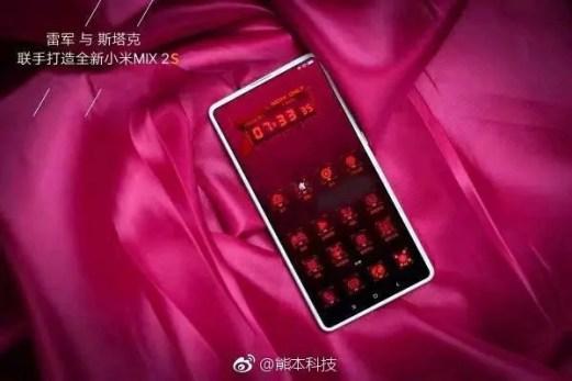 Xiaomi Mi MIX 2S leak