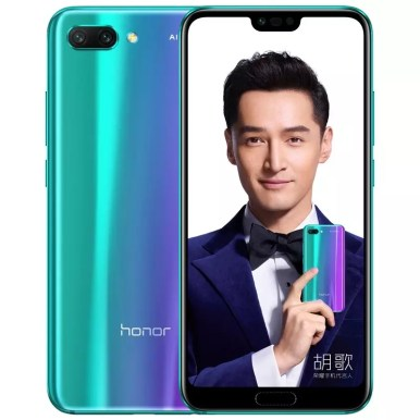 Huawei Honor 10 in Mirage Purple