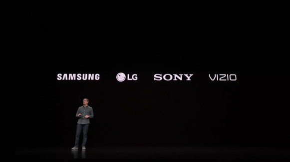 Apple TV app on smart TVs