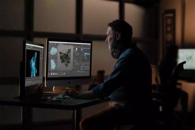 Apple iMac gets 2x more performance man in editing studio 03192019