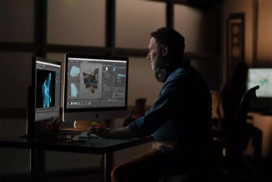 Apple iMac gets 2x more performance man in editing studio 03192019