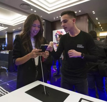 Samsung Galaxy S10 Greek launch event 4