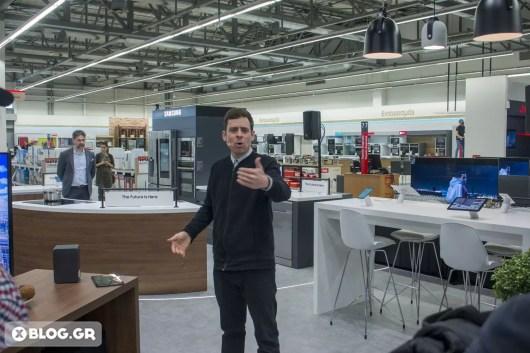 Samsung Hub Kotsovolos Greece opening XBLOG 1