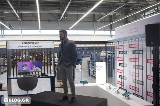 Samsung Hub Kotsovolos Greece opening XBLOG 9