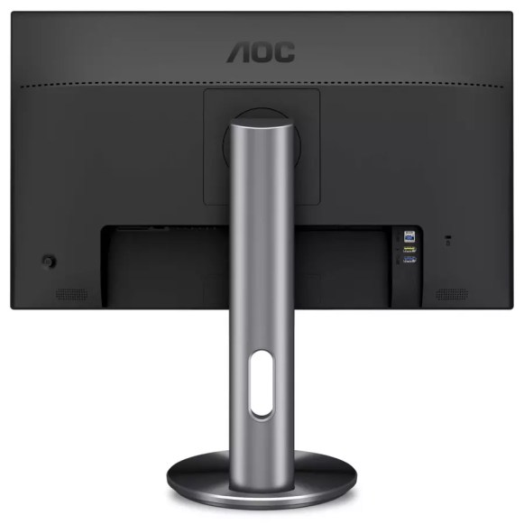 AOC u2790pqu back view