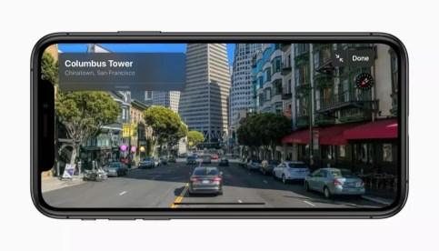 Apple ios 13 look around screen iphone xs 06032019