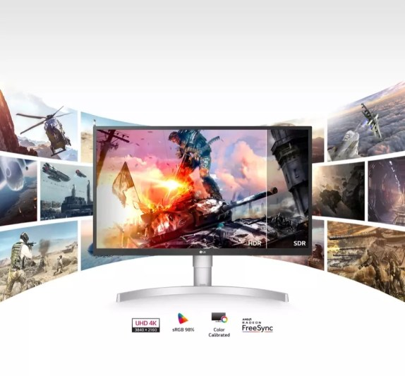 LG 27UL500 4K gaming monitor HDR