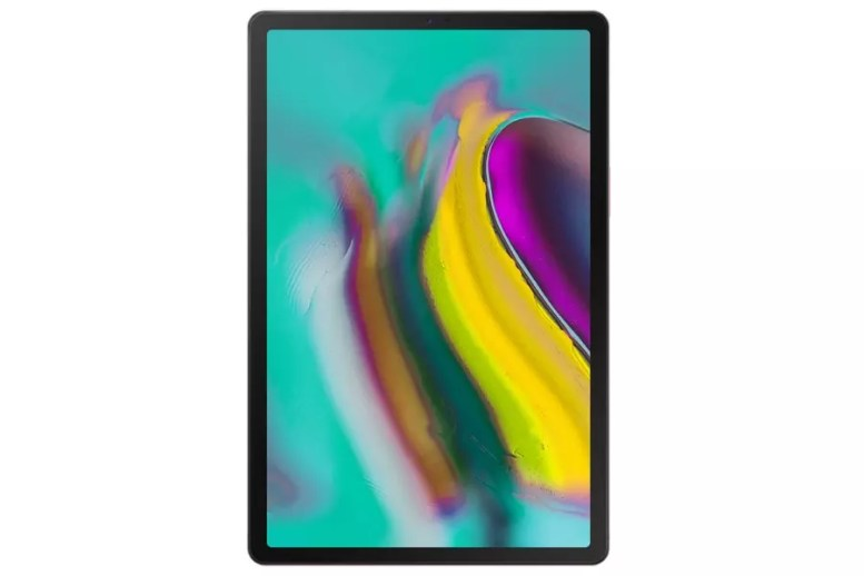 Samsung Galaxy Tab S5e front gold