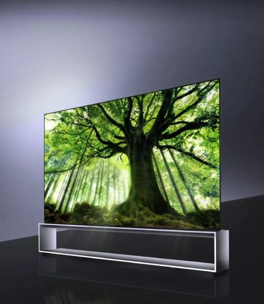 lg signature oled 8k tv model 88z9 3 0