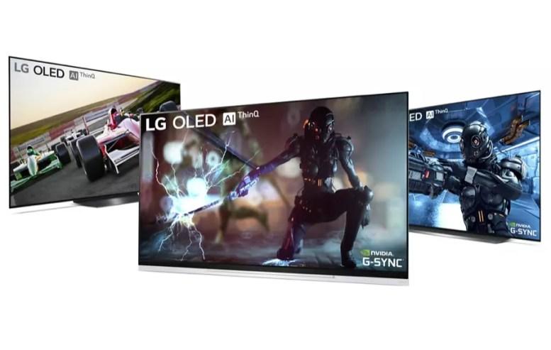 NVIDIA G SYNC on LG OLED TV 2