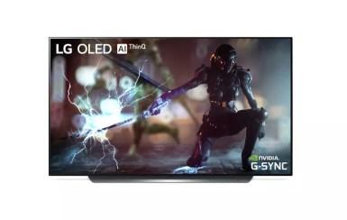 NVIDIA G SYNC on LG OLED TV C9