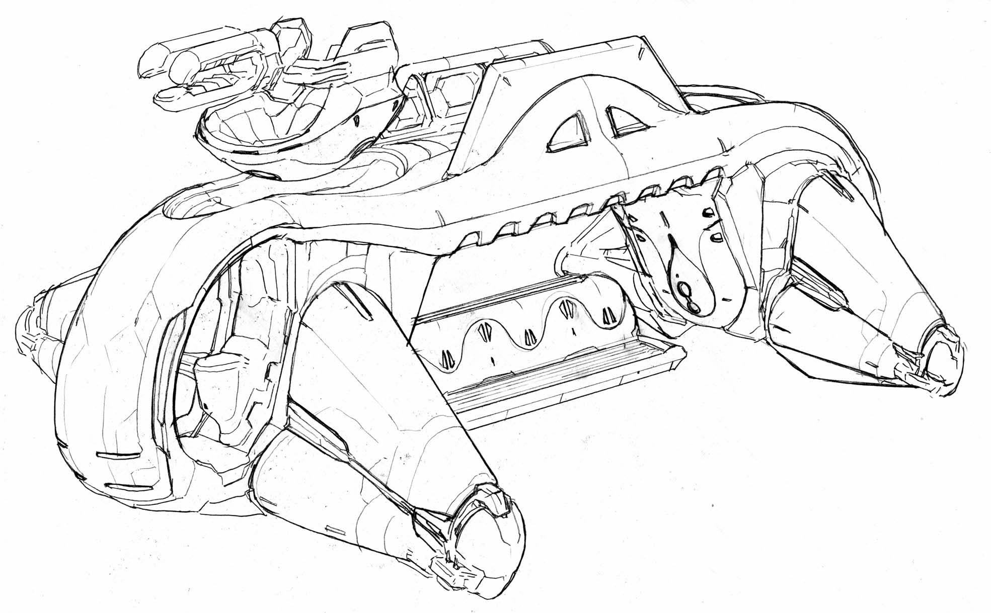 Halo 2 Concept Art