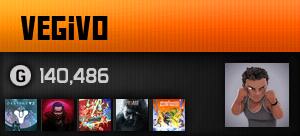 Vegivo's Gamercard
