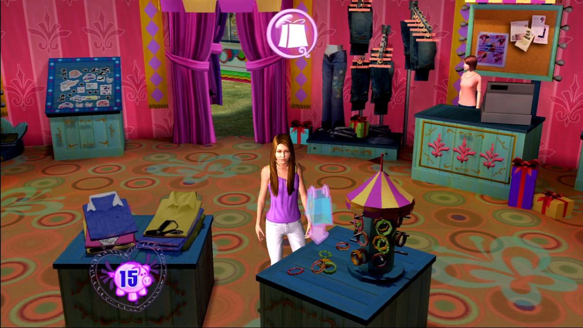 XBox 360 Hannah Montana The Movie XBOX Home