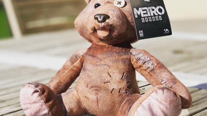 Mon nouveau doudou #bear #metroexodus #metro #kochmedia #game #subway #beautifulbear
