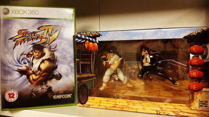 A l'époque où les Street Fighter sortaient sur Xbox … #Xbox #Xbox360 #StreetFighter4 #StreetFighterIV #Capcom #Microso…
