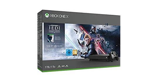 Bon Plan : La Xbox One X + Jedi Fallen Order à 299,99€ https://amzn.to/38kr45q