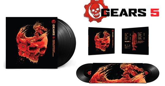 Just For Games annonce l'ouverture des précommandes pour le double-disque vinyle de la musique de Gears Of War 5 Ca sera…