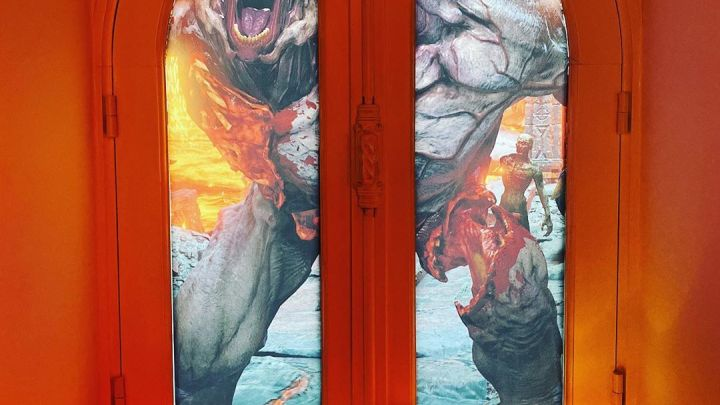 Aujourd'hui c'est le Doomsday pour nous. Rendez-vous le 21 janvier. #doom #doometernal #bethesda #fps #xbox #xboxone #mi…
