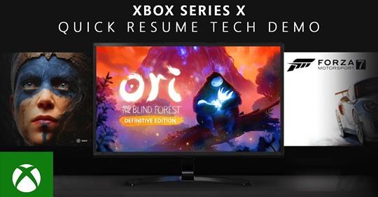 Quick Resume permet aux joueurs de la Xbox Series X de basculer en toute transparence entre plusieurs titres d'un état s…