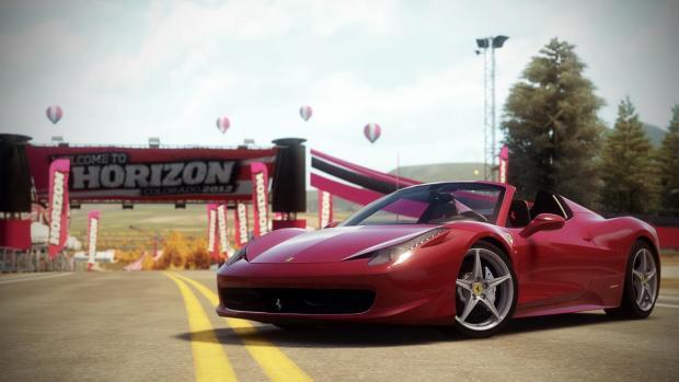 Ferrari F458 Italia Spider Forza Horizon