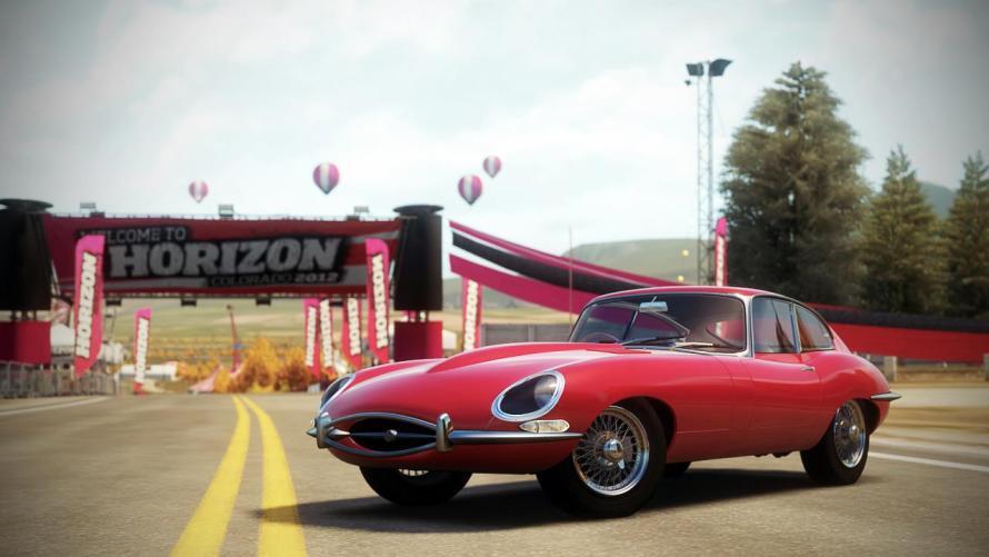 Jaguar Type E Forza Horizon