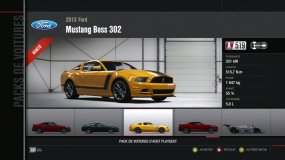 Ford Mustang Boss 302 Forza Motorsport 4 Playseat DLC