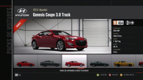 Hyundai Genesis Coupe 3.8 Track Forza Motorsport 4 Playseat Pack