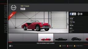 Triumph TR3B Forza Motorsport 4 Playseat DLC