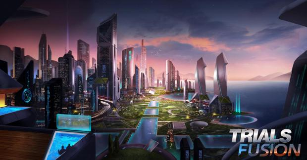 Trials Fusion Futuristic World