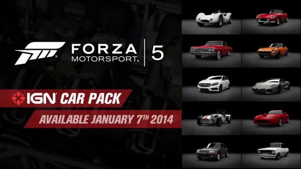 Pack IGN Forza 5