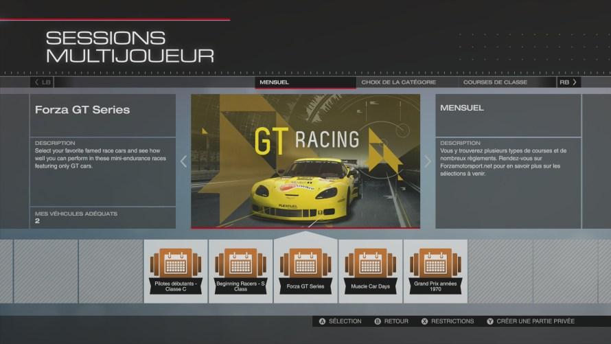 Forza GT Series dans Forza Motorsport 5
