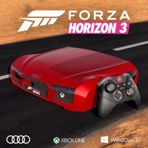 passelaseconde tentez de gagner la xbox one s ultra collector forza horizon 3. Black Bedroom Furniture Sets. Home Design Ideas