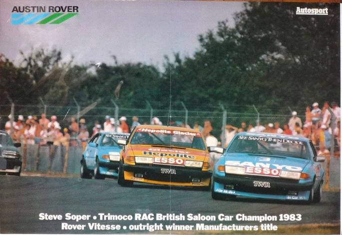 ROVER-VITESSE-TWR-Group-A-1983-BTCC-Winners