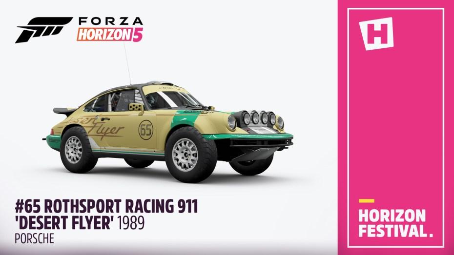 Forza-Horizon-5-Liste-Porsche-Rothsport-Racing-911-Desert-Flyer